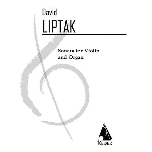 Lauren Keiser Music Publishing Sonata for Violin and Organ LKM Music Series Composed by David Liptak