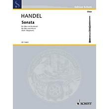 Schott Sonata in B Flat Maj (Oboe with Piano Accompaniment) Schott Series