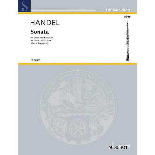 Schott Sonata in B Flat Maj (Oboe with Piano Accompaniment) Schott Series