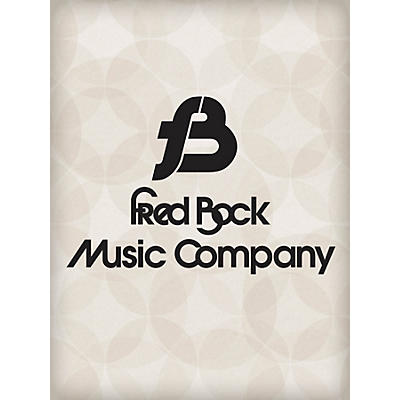Fred Bock Music Sonata in Baroque Style Fred Bock Publications Series