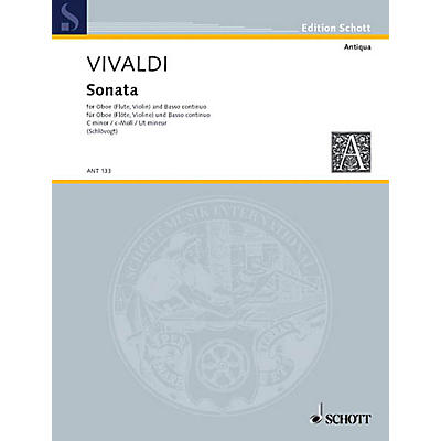 Schott Sonata in C Min, RV 53 Schott Series