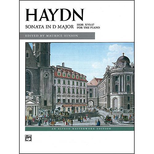 Alfred Sonata in D Major Hob. XVI/37