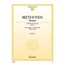 Schott Sonata in F Minor, Op. 2, No. 1 (Nach dem Urtext) Schott Series