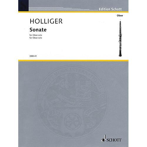 Schott Sonata in F (Oboe Solo) Schott Series Book