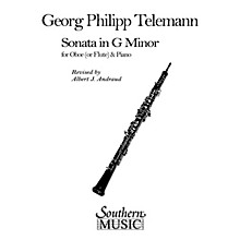 Southern Sonata in G Min (Oboe) Southern Music Series Arranged by Albert Andraud