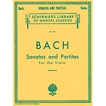 G. Schirmer Sonatas And Partitas Violin Unaccompanied By Bach