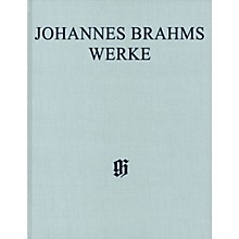 G. Henle Verlag Sonatas for Pa and Violoncello/Sonatas for Cl and Piano Henle Complete Hardcover by Brahms Edited by Voss