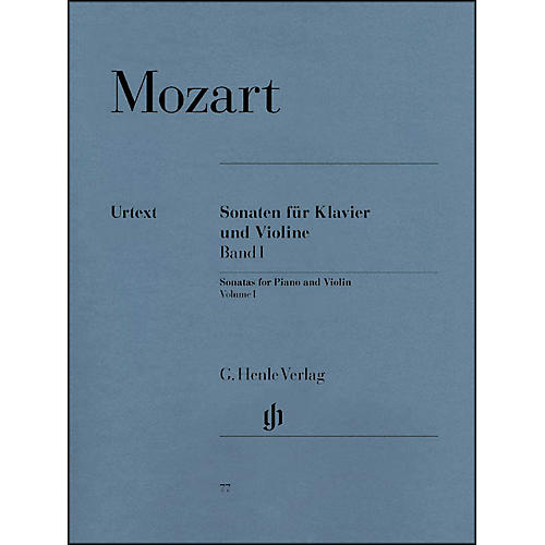 G. Henle Verlag Sonatas for Piano And Violin Volume I By Mozart