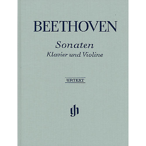G. Henle Verlag Sonatas for Piano and Violin - Volumes I & II Henle Music Folios Series Hardcover