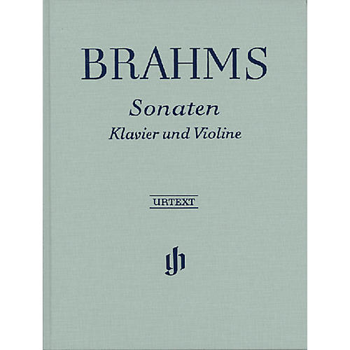 G. Henle Verlag Sonatas for Piano and Violin Henle Music Folios Series Hardcover