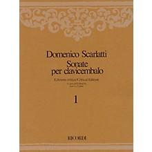 Ricordi Sonate per Clavicembalo Volume 4 Critical Edition Piano Collection by Scarlatti Edited by Emilia Fadini