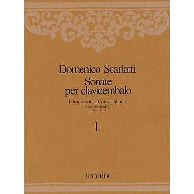 Ricordi Sonate per Clavicembalo Volume 7 Critical Edition Piano Collection by Scarlatti Edited by Emilia Fadini