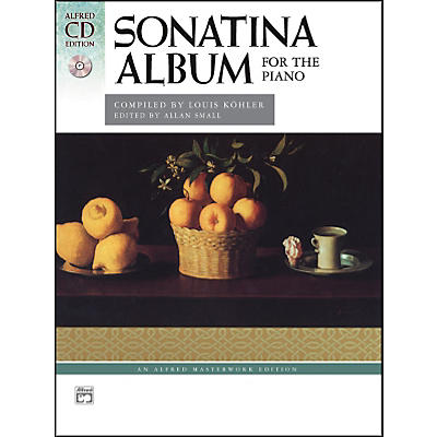 Alfred Sonatina Album Smyth-Sewn Book & 2 CDs