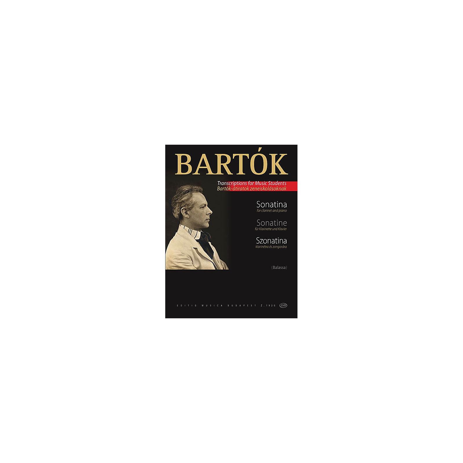 Editio Musica Budapest Sonatina EMB Series by Béla Bartók