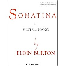 Carl Fischer Sonatina For Flute and Piano