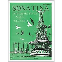 Willis Music Sonatina In Classic Style - Mid-Intermediate Piano Solo by William Gillock