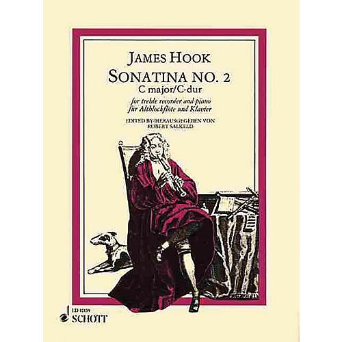 Schott Sonatina No. 2 in C Major Schott Series by James Hook Arranged by Robert Sakleld