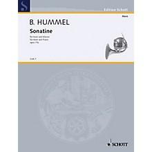 Schott Sonatina Op. 75A (Horn and Piano) Schott Series