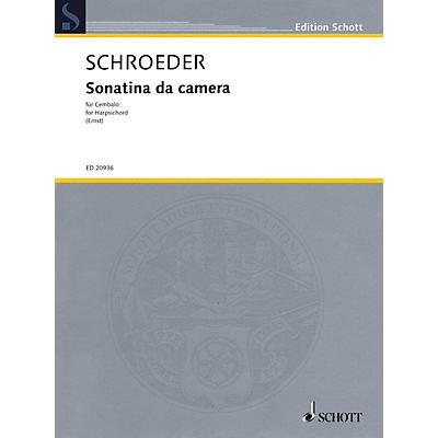 Hal Leonard Sonatina da camera (for Cembalo or Harpsichord) Schott Series Softcover