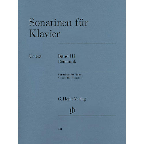 G. Henle Verlag Sonatinas for Piano - Volume III: Romantic Henle Music Folios Series Softcover