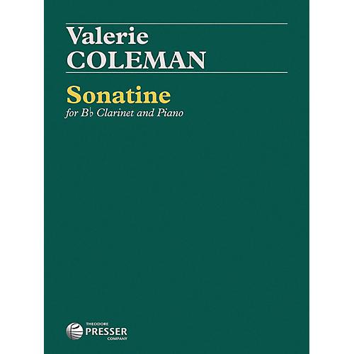 Carl Fischer Sonatine - Clarinet with Piano