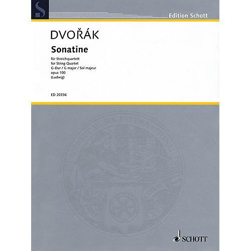 Schott Music Sonatine (String Quartet Score and Parts) String Series Composed by Antonín Dvorák
