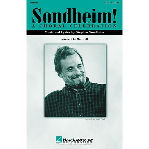 Hal Leonard Sondheim! A Choral Celebration (Medley) ShowTrax CD Arranged by Mac Huff