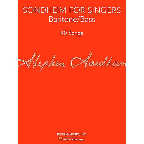 Hal Leonard Sondheim For Singers - Baritone/Bass