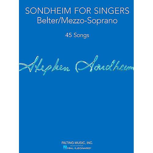 Hal Leonard Sondheim For Singers - Belter/Mezzo-Soprano