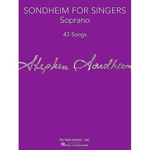 Hal Leonard Sondheim For Singers - Soprano