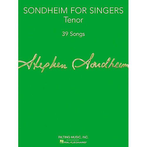 Hal Leonard Sondheim For Singers - Tenor