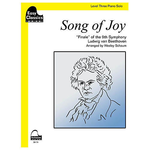 SCHAUM Song Of Joy Educational Piano Series Softcover