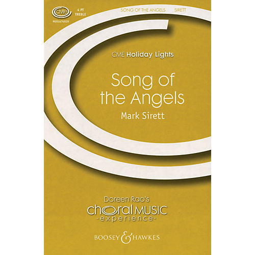 Boosey and Hawkes Song of the Angels (CME Holiday Lights) SSAA A Cappella composed by Mark Sirett