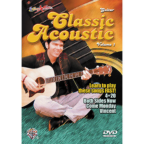 Alfred SongXpress Classic Acoustic Volume 1 DVD