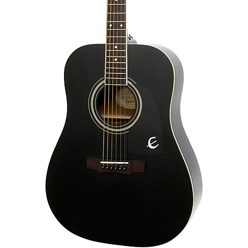 Epiphone Songmaker DR-100 Acoustic Guitar Black