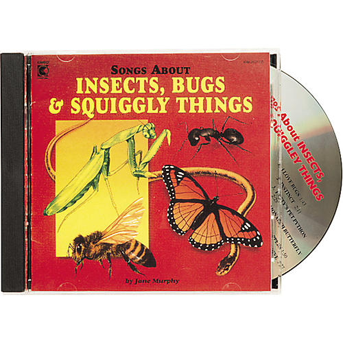Kimbo Songs About Insects, Bugs and Squiggly Things CD/Guide
