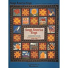 G. Schirmer Songs America Sings 121 Easy Arrangements for Piano, Vocal, Guitar Songbook