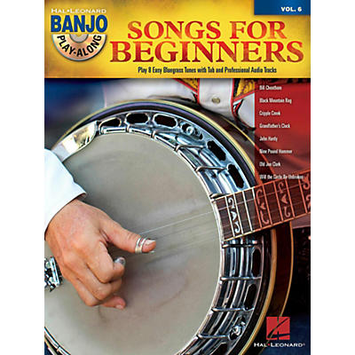 Hal Leonard Songs For Beginners - Banjo Play-Along Vol. 6 Book/CD