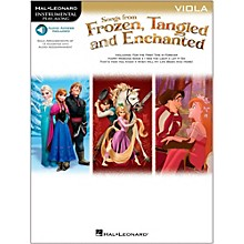 Hal Leonard Songs From Frozen, Tangled And Enchanted For Viola - Instrumental Play-Along Book/Online Audio
