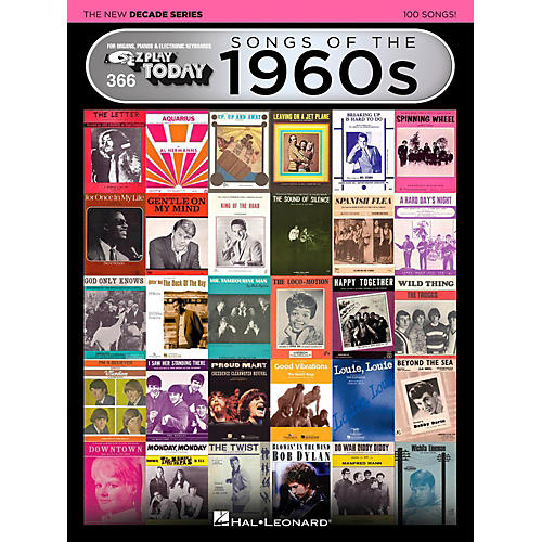 Hal Leonard Songs Of The 1960s - The New Decade Series E-Z Play Today Volume 366