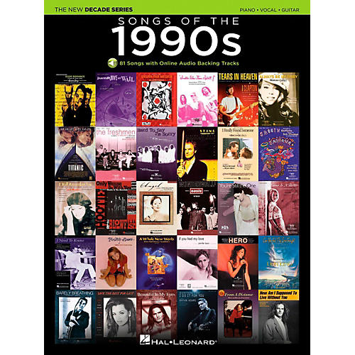 Hal Leonard Songs Of T...1990s Decade