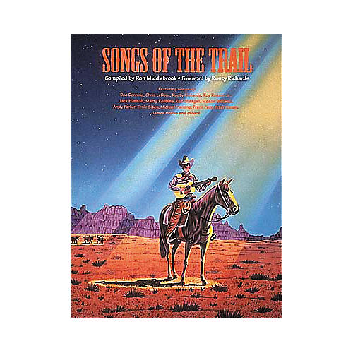 Centerstream Publishing Songs Of The Trail Guitar Tab Songbook
