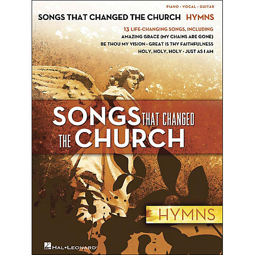Hal Leonard Songs That Changed The Church - Hymns arranged for piano, vocal, and guitar (P/V/G)