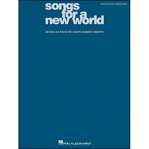 Hal Leonard Songs for A New World arranged for piano, vocal, and guitar (P/V/G)