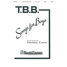 Shawnee Press Songs for Boys TTB arranged by Noble Cain