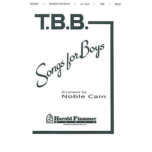 Shawnee Press Songs for Boys TTB arranged by Noble Cain