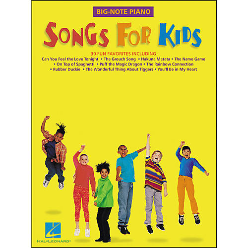 Hal Leonard Songs for Kids for Big Note Piano