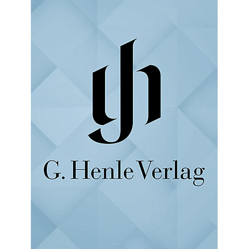 G. Henle Verlag Songs for Several Voices Henle Edition Series Hardcover