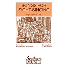 Southern Songs for Sight Singing - Volume 1 (High School Edition TB Book) TB Arranged by Mary Henry