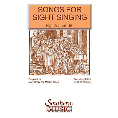 Southern Songs for Sight Singing- Volume 1 (High School Edition TB Book) TB Arranged by Mary Henry